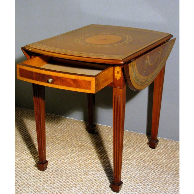 Image of 1940's Drop Leaf Table
