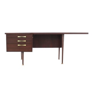 Large Executive Three-Drawer Desk or Writing Table
