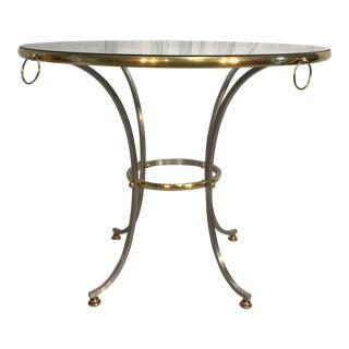 Jansen Style Steel & Brass Table