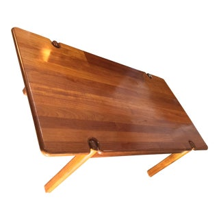 Tarm Stole Mid-Century Solid Teak Danish Coffee Table