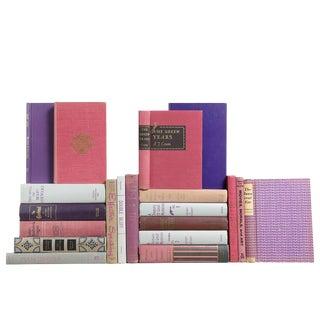 Granite & Grape Midcentury Book Set, S/20