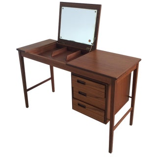 Danish Make-Up Vanity in Teak