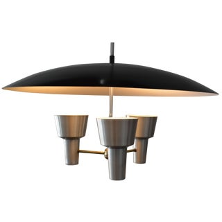 LiteCraft Aluminum 3-Light Chandelier