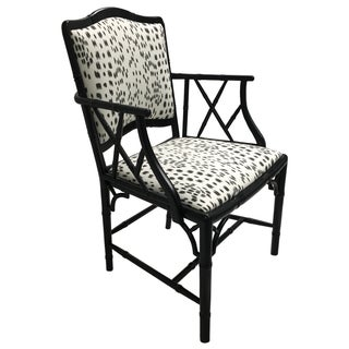 Faux Bamboo Brunshwig Les Touches Armchair
