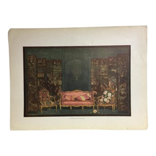 1920 French Design and Interiors Chinoise Print