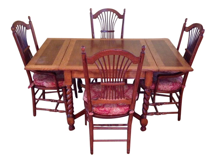 Dining Sets vintage & used dining table & chair sets | chairish