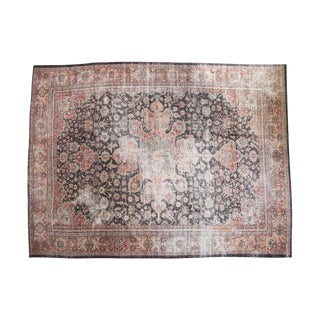 "Vintage Distressed Mahal Carpet - 10'2"" x 13'7"""