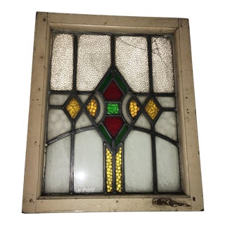 Art Deco Design Stained Glass Window