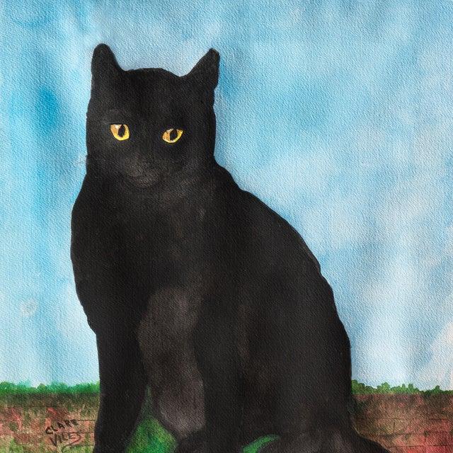 Portrait of a Black Cat, 1975 - Image 2 of 3