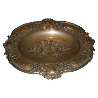 English Silver Plate Candy Dish