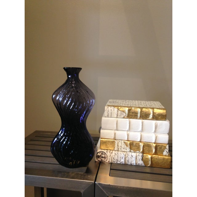 Image of Blenko Glass Amethyst Vase