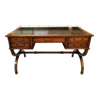 Sligh Lowry Curule Trestle Writing Desk