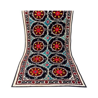 Antique Turkish Suzani Tapestry