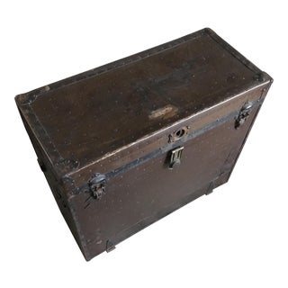 "Rare Tophams ""Campaign"" Trunk, 1915"