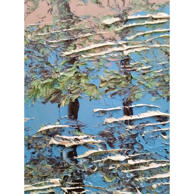Signed Morris Katz Forest Landscape Oil Painting - Image 4 of 6
