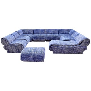Vladimir Kagan Nine-Piece Sectional by Preview