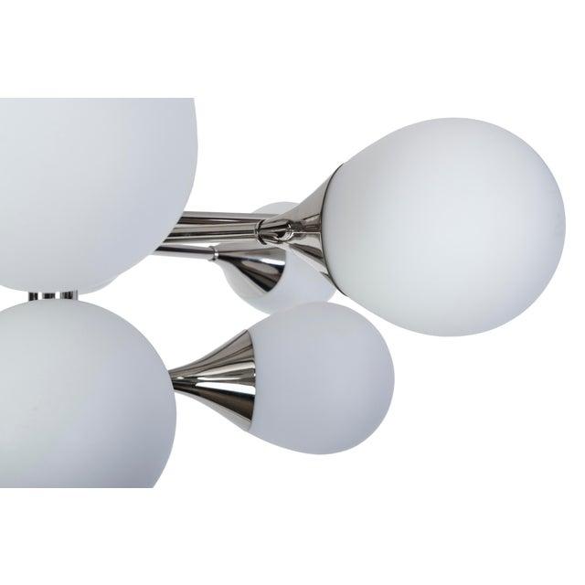 Exceptional Orbital Form Sputnik Chandelier - Image 4 of 6