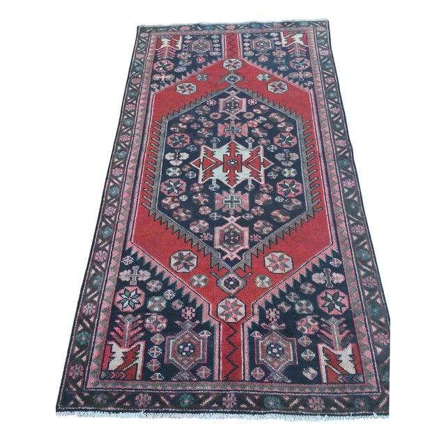 Vintage Persian Rug - 4′ × 7′8″ - Image 1 of 7