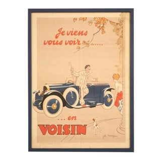 """I'm Going to See You in My Voisin"" Poster"