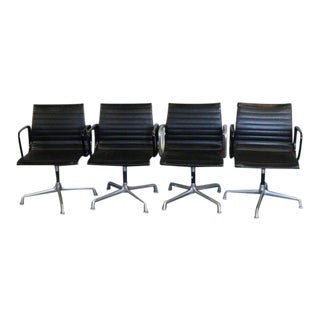 Eames for Herman Miller/ Aluminum Group Executive Chairs - Set of 4