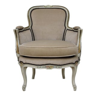 Petite Velvet Salon Chair