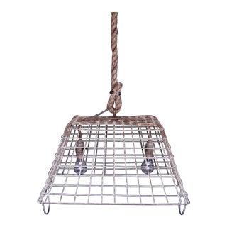 Royen Oyster Basket Pendant Lamp