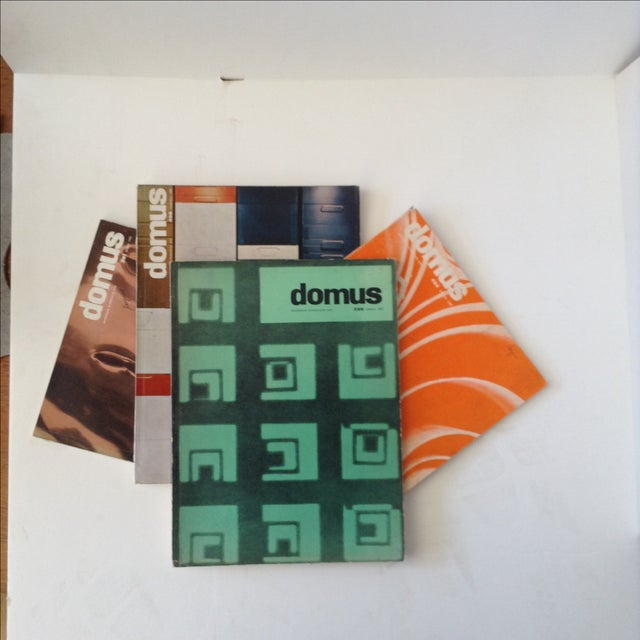 Mid-Century Domus Magazines- Set of 4 - Image 2 of 6