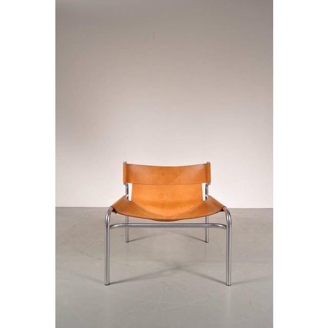 "Lounge Chair ""sz12"" by Walter Antonis for Spectrum, Netherlands, circa 1970 - Image 3 of 9"