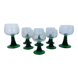 Vintage French Roemer Luminarc Glassware, Set of 8
