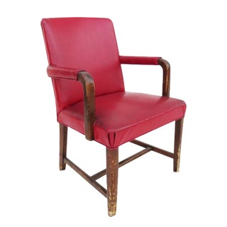 Red Retro Chair