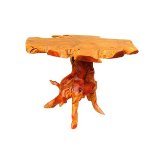 Organic Cedar Side Table