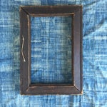 Image of Large Vintage Carved Wood Tramp Art Frame