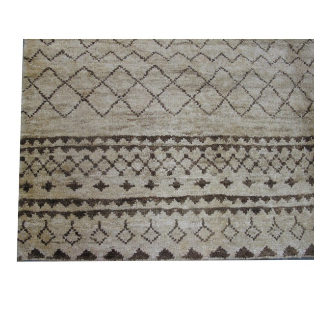 Image of Natural Hemp Indian Rug - 8′2″ × 10′