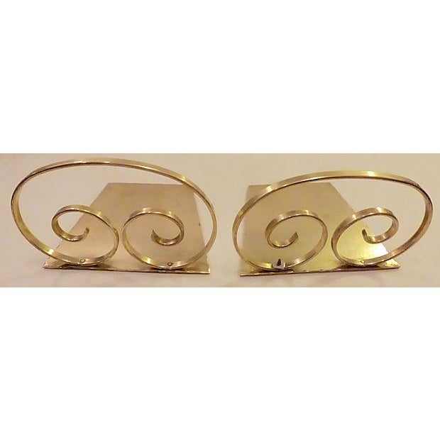 Solid Brass Bookends - A Pair - Image 5 of 6