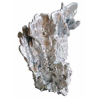 Silver Gilt Coral Specimen