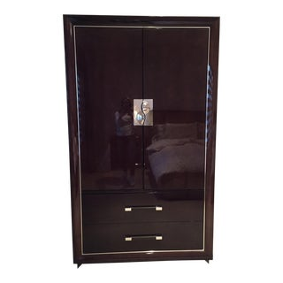 Giorgio Collection Italian Lacquered Wood Armoire