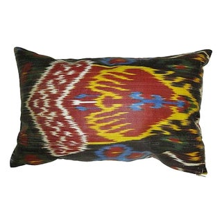 Reversible Ikat Pillow