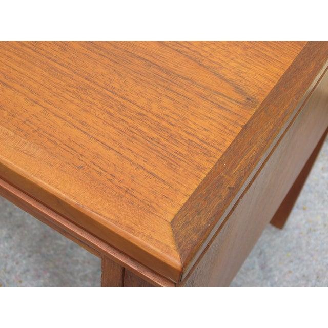Mid Century Danish Modern Desk - Image 5 of 6