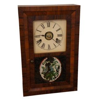 Seth Thomas Rosewood Veneer Clock