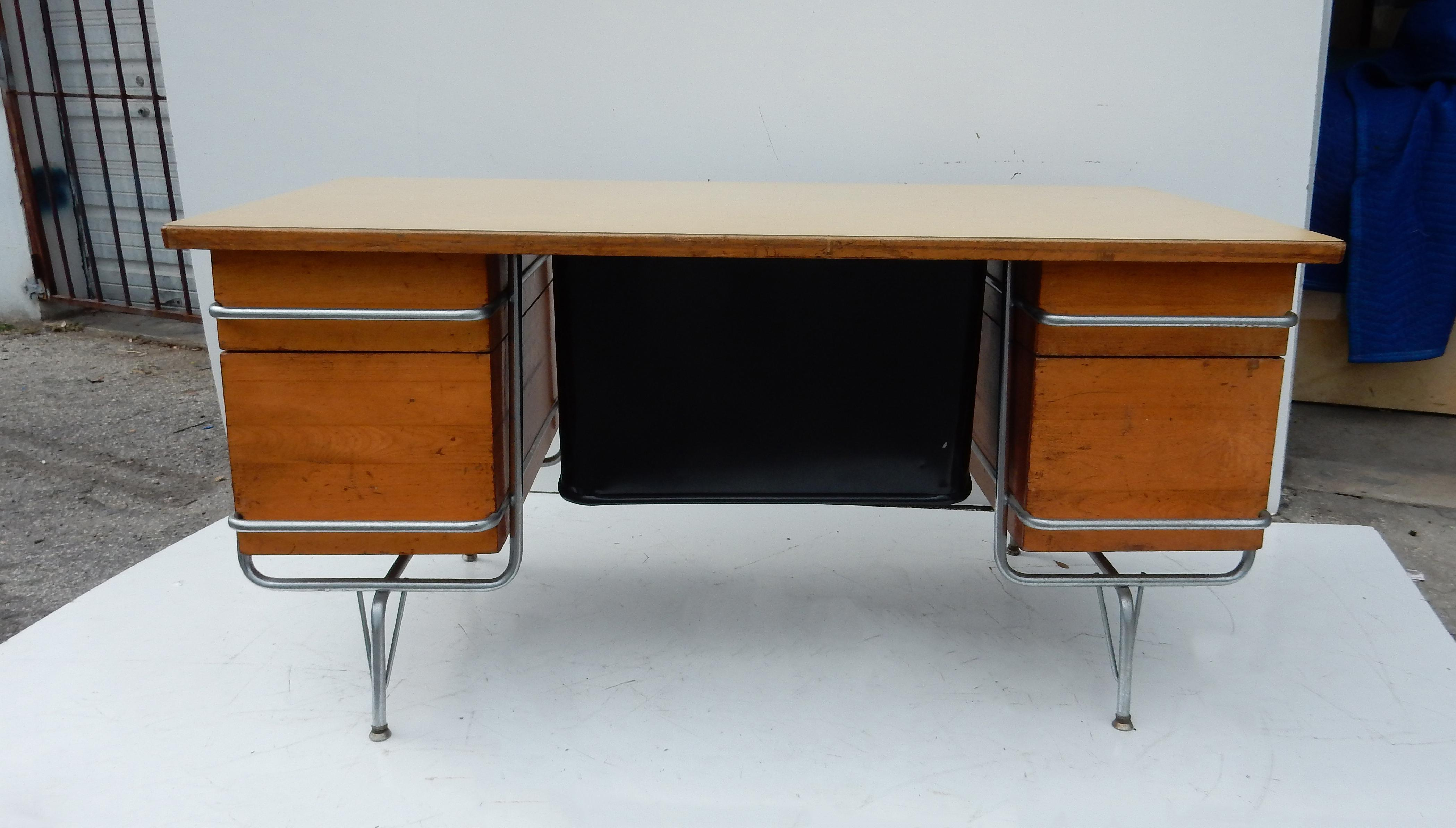 Original Kem Weber Heywood-Wakefield Trimline Desk : Chairish