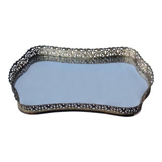 Hollywood Regency Filigree Vanity Tray