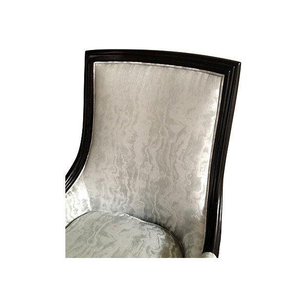 Baker Attri. Vintage 1956 High-Back Club Chair - Image 5 of 8