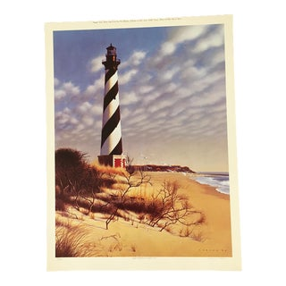 "Howard Koslow ""Cape Hatteras"" North Carolina Print"