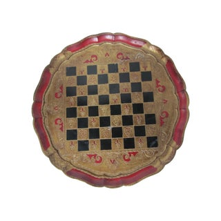 Checkerboard Florentine Tray