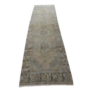 "Turkish Oushak Runner Rugs - 2'8"" x 9'8"""