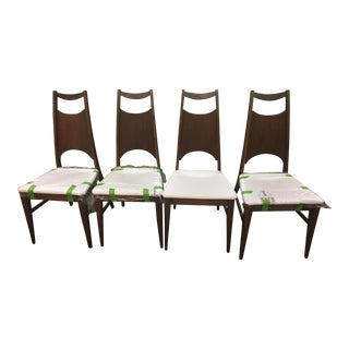 Bassett Refurbished Dining Chairs - Set of 4