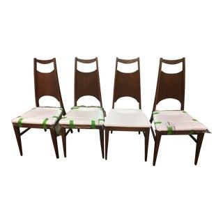Bassett Refurbished Dining Chairs - Set of 4