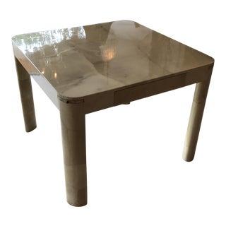 Springer Inspired Goatskin Game Table