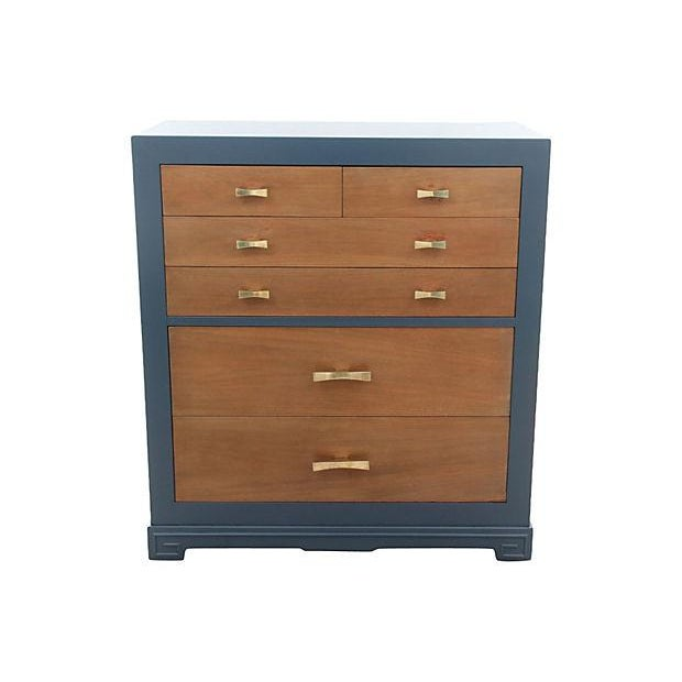 Vanleigh of New York Painted Chest of Drawers - Image 1 of 7