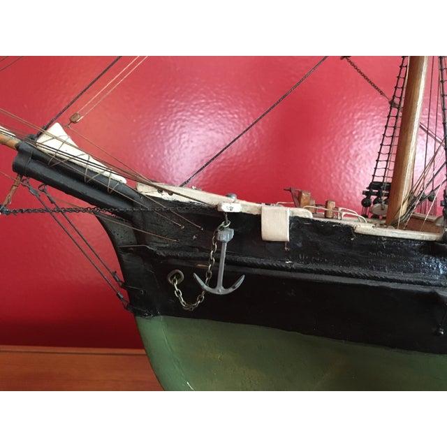1940s Mid-Century Ship Model - Image 4 of 8